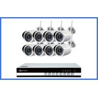 Buy cheap 8 Ch Wireless CCTV Camera Kits Megapixel Waterproof IP 720P / 960P / 1080P from wholesalers