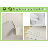 Buy cheap Customized White Cardboard Paper Sheets , Paper Packaging Board For Medicine from wholesalers