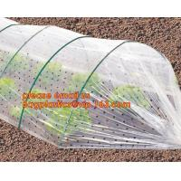 Buy cheap high light transmittance solar control seeding nursery greenhouse covers,100% virgin LDPE protective single layer cucumb from wholesalers