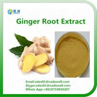 Buy cheap Natural High Quality Ginger Root Extract Plant extract from wholesalers