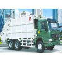 Buy cheap 6x4 LHD / RHD Refuse Compactor Truck , HW70 Cabin Rubbish Collection Truck from wholesalers