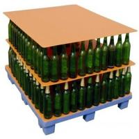 Buy cheap 1000x 1200mm Glass Bottles PP Corrugated Plastic Layer Pads / PP Hollow Board from wholesalers