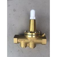 China Brass water pressure reducing valve Working pressure PN16 , Adjustment 20~175PSI on sale