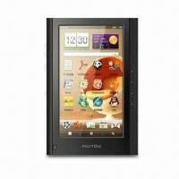 Buy cheap 7-inch TFT E-book Reader, Supports Wi-Fi, Touch Panel, Dictionary, FM, Recording from wholesalers