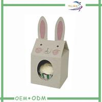 China Paper Folding favor boxes wedding , Gift Candy Box in Rabbit Shape on sale