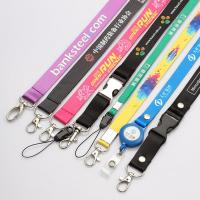 Buy cheap Polyester necklace lanyards with custom imprint logo,Lanyard Colors Key Holder Neck Straps or Holders Sports Lanyards from wholesalers