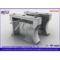 Buy cheap Automation RFID Stainless Steel Turnstile Access Control For Office Building product