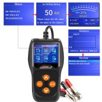 Buy cheap 1/3 Phrase Car Battery Tester Foxwell Autel Launch BT101 BT100 220/380VAC 50/60Hz product