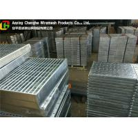 Buy cheap Custom Vehicuar Galvanised Steel Grating 10 - 300mm Height ISO9001 Certification product