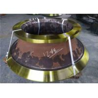 China Casting Parts Cone Crusher Mantle And Concave With Manganese Steel Material on sale