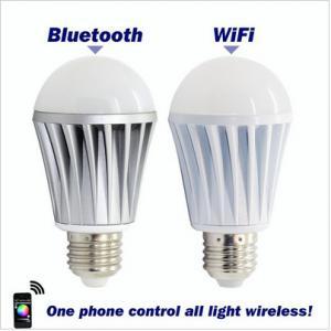 China WiFi Smart LED Lighting Series! Music Alarm Group WiFi LED Bulb,WiFi RGB LED Bulb on sale