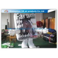 Buy cheap Customized White Inflatable Horse Costume For Adults With Arms Legs For Shows from wholesalers