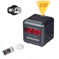 Buy cheap H.264 WiFi 2 Band AM/FM Alarm Clock Radio Covert Camera from wholesalers