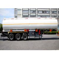 Buy cheap Liquefied Gas Tanker Truck Semi Trailer Capacity 36000L 3 Axles High Effective from wholesalers