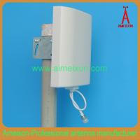 Buy cheap Outdoor/Idoor 2.4GHz 14dBi Directional Wifi Wall Mount Panel Antenna from wholesalers