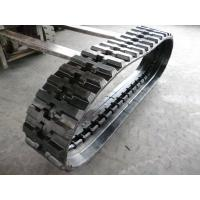 Buy cheap Conventional Type Replacement Rubber Tracks 350 * 109 *41 For Kobelco Z15 / SK032 from wholesalers