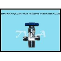 Buy cheap CGA555 Adjustable Pressure Relief Valve Flapper Type Nitrogen Cylinder Valve from wholesalers