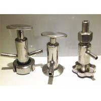 Buy cheap 1-4 Stainless Steel Sanitary Sample Valves Weld Connection , Both Membrane Functions from wholesalers