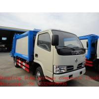 Buy cheap dongfeng garbage refuse garbage truck for sale from wholesalers