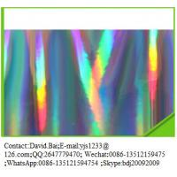 Buy cheap Metallized holographic film from wholesalers