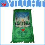 Buy cheap black cotton muslim islamic prayer mat template with bag children islam from wholesalers
