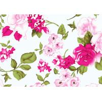 Buy cheap Beautiful Floral Cotton Print Fabric By The Yard 60*60 90*88 from wholesalers