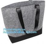 Buy cheap Eco-Friendly Grey Reusable Felt Grocery Shopping Handbag Tot Bag For Women Men,Mesh bags,Shopping bags, Drawstring bags, from wholesalers