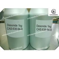 Buy cheap Desonide Topical Corticosteroid Anti-inflammatory for Skin Disease White Powder from wholesalers