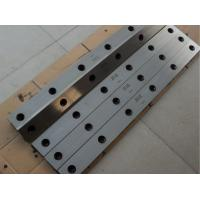 Buy cheap 6CrW2Si Metal Shear Blades Sheet Metal Cutting Tools High Performance from wholesalers