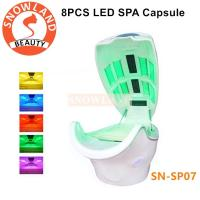 Buy cheap Far Infrared Sauna Spa Capsule / LED Light Therapy Bed For dry Steam from wholesalers