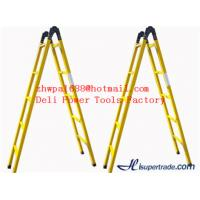 Buy cheap A-shape fiberglass insulated ladders&hot selling ladder product