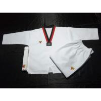 Buy cheap 110-180cm High Quality Cotton/polyesterTaekwondo uniform martial arts clothes from wholesalers