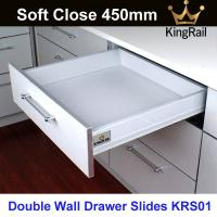 Buy cheap Office furniture hardware drawer slide Soft Close Drawer slide KRS01 from wholesalers