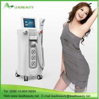 Buy cheap Permanent painless 808nm diode vertical laser hair removal machine from wholesalers