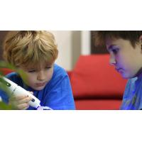 Buy cheap CE FCC Kids 3D Pen With Cool Ink , Light - cured  3D Drawing Pen from wholesalers