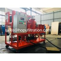Buy cheap Hydraulic Fluid Recycling System,Used Hydraulic Oil Purification Facility,bearing oil refining machine,oil separator from wholesalers
