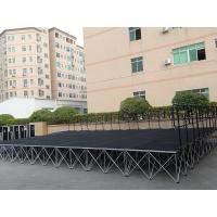 Buy cheap Easy install stage lighting truss aluminum folding stairs aluminum portable stage aluminum stage truss from wholesalers