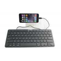 Buy cheap Wired Ultrathin Ipad Keyboard Portable With 8 Pin Connectors product