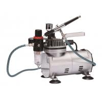 Buy cheap Quiet Makeup Airbrush Compressor , Tankless Air Compressor Anti Rust TC-22BK product