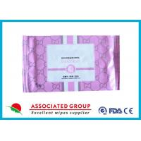 Buy cheap Disposable Organic Smooth Feminine privateparts Hygiene Wipes With Fresh Scent from wholesalers