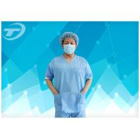 Buy cheap SMS Nonwoven Surgical  Medical Scrub Suit  / Disposable patient Gowns , CE And ISO from wholesalers