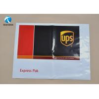 Buy cheap Heavy Duty DHL EMS UPS Plastic Courier Bags with Custom Logo Printed from wholesalers