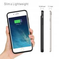 Buy cheap iPhone 8/7/6/6S Battery Case 3000mAh Lingthing Earphone Supported Ultra Slim  Charging Case Charger Audio/Data Sync from wholesalers