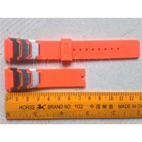 China Wraped Stainless Steel Bracelet Watch New Design PVC Flexible Custom Watch Bands on sale