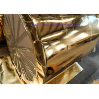 Buy cheap Colored  Embossed Aluminum Foil Laminated Paper Length:1500m-1800m for Salon Decoration / Eyes Mask/Gift Case from wholesalers