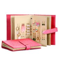 Buy cheap Earrings Holder Book Fancy Jewelry Box Foldable For Earrings Storage from wholesalers