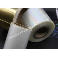 Buy cheap Pressure Sensitive Laminating BOPP Packaging Film PVDC Coated Great Flexibility from wholesalers