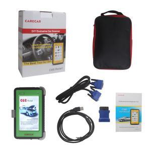 Buy cheap Portable Auto Diagnostic Tools , Multilingual Original CareCar C68 product