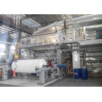 Buy cheap High Efficiency Small Tissue Paper Making Machine Wood Virgin Pulp Raw Material from wholesalers