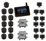 Buy cheap 22 wheels 24h mornitor External Sensors Truck Tire Pressure Monitoring system FCC CE product